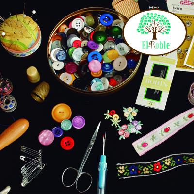 Botones y accesorios
